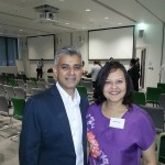 Attending BAME Conference 2013 with Sadiq Khan MP