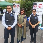 With Dollis Hill SNT at Brent Eid Mela