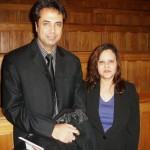 With renowned Pakistani journalist & News analyst. Talat Hussain