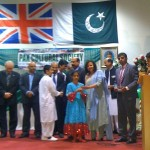 Giving prizes to kids in Walthamstow on the occassion of Pakistan's Independence Day