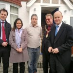 Visting resident in Perivale with Ealing Mayor & co-cllrs