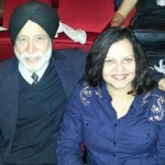 With Cllr. Harbhajan Singh of Brent Council