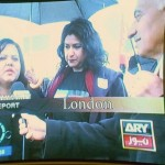 Speaking to ARY News about Save Our Hospitals Campaign
